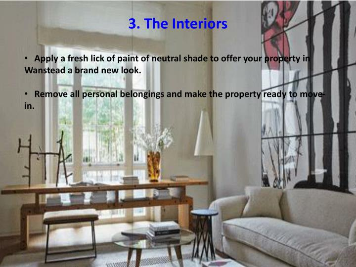 3. The Interiors