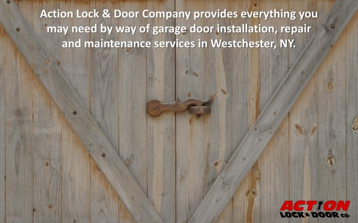 Action Lock & Door Company provides everything you