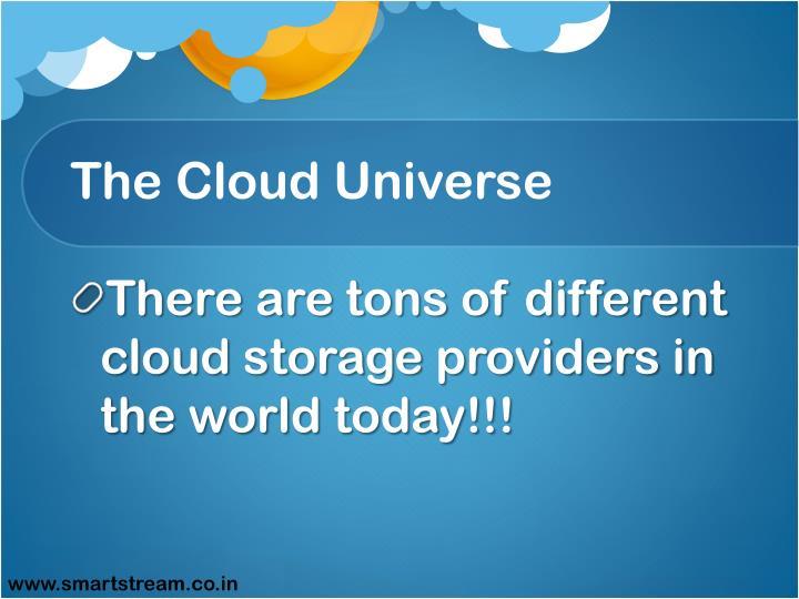 The Cloud Universe