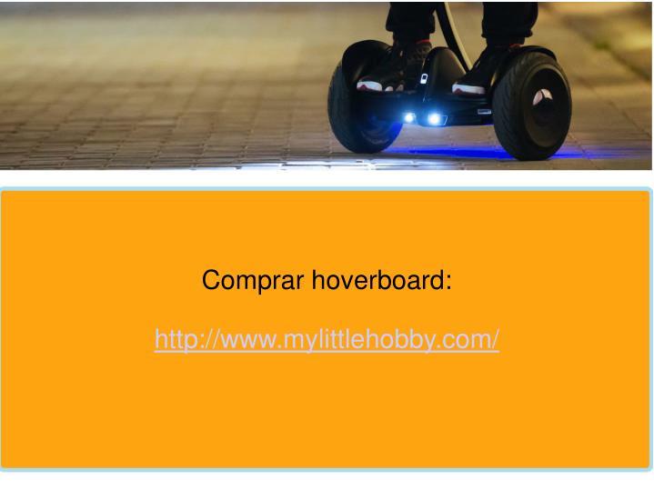 Comprar hoverboard:
