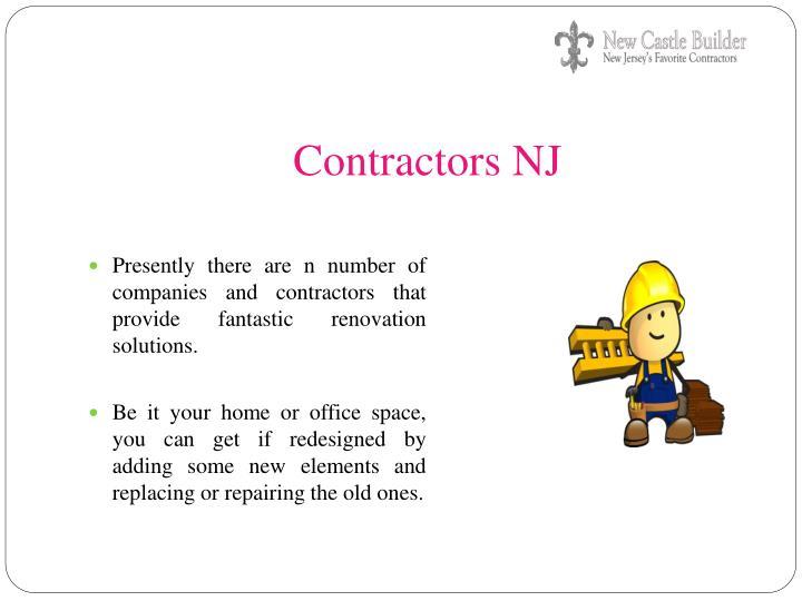 Contractors NJ