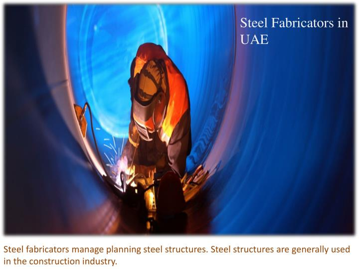 Steel Fabricators in UAE