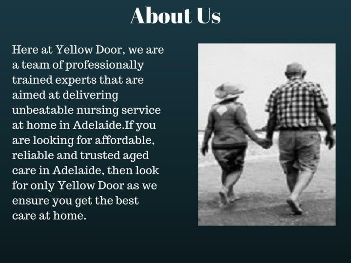 Yellow door care best home care nurse services