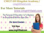 cmgt 410 slingshot academy cmgt410aid com11