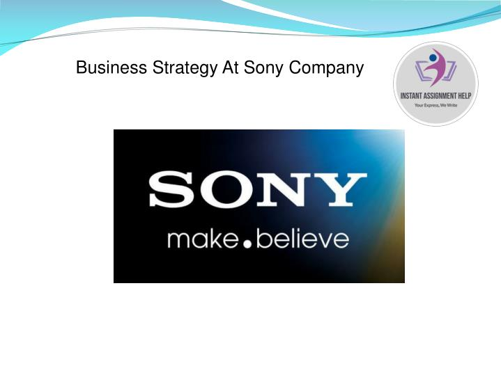 Business Strategy At Sony Company