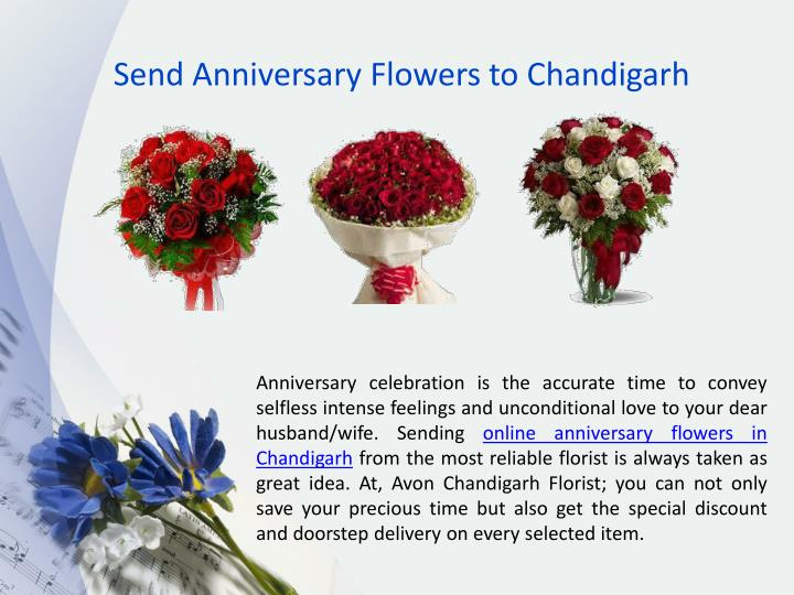 Send Anniversary Flowers to Chandigarh
