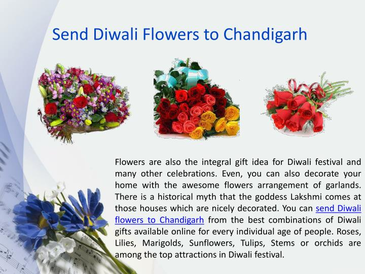 Send Diwali Flowers to Chandigarh