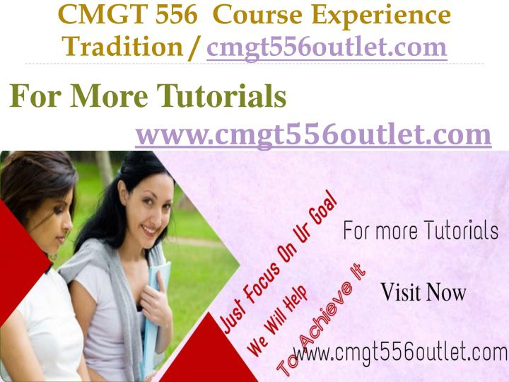 CMGT 556  Course