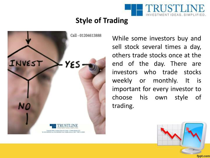 Style of Trading