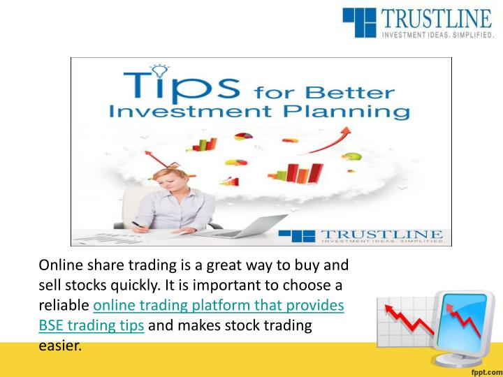 Online share trading is a great way to buy and sell stocks quickly. It is important to choose a reliable