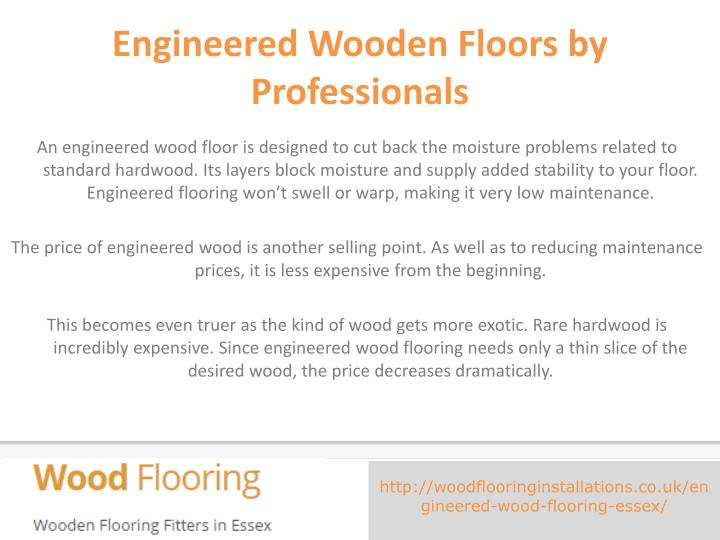 Engineered Wooden Floors by Professionals