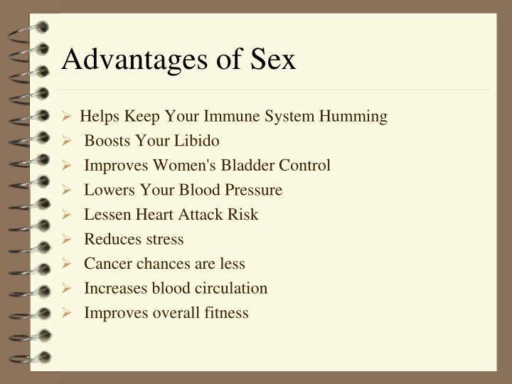 Advantages of Sex