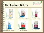 our products gallery