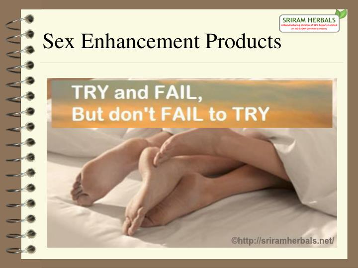 Sex Enhancement Products