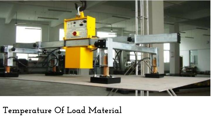 Temperature Of Load Material