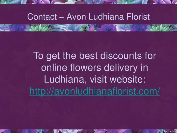 Contact – Avon Ludhiana Florist