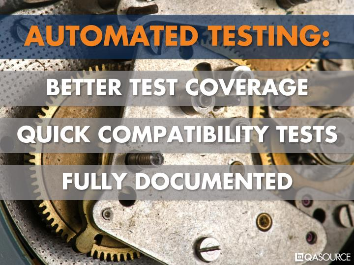 AUTOMATED TESTING: