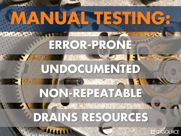 MANUAL TESTING: