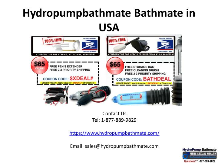 Hydropumpbathmate bathmate in usa