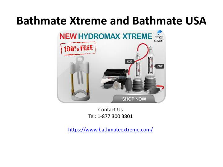 Bathmate xtreme and bathmate usa