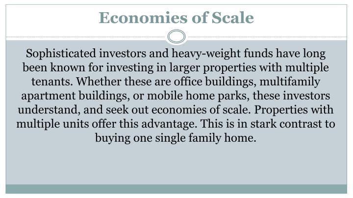 Economiesof Scale