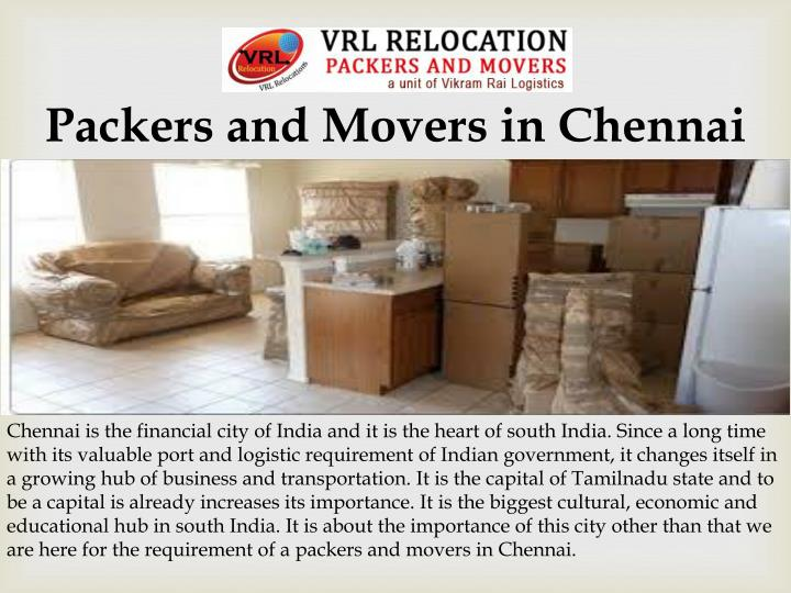 Packers and Movers in