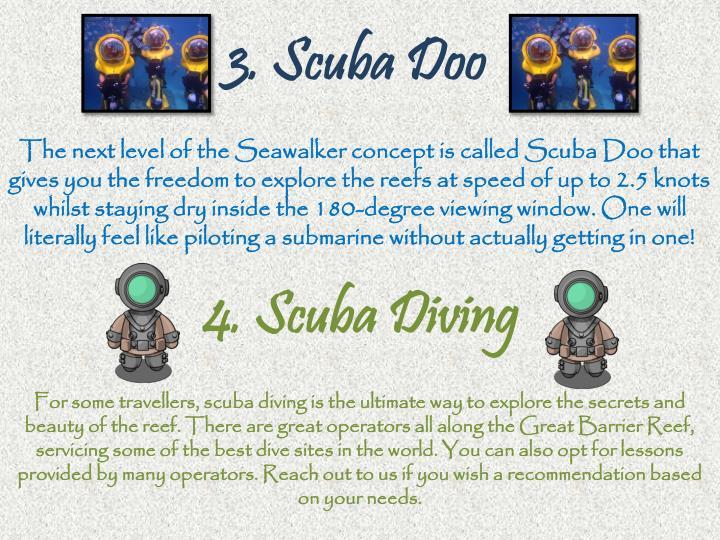 3. Scuba Doo
