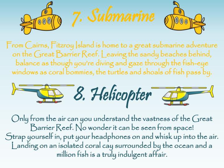 7. Submarine