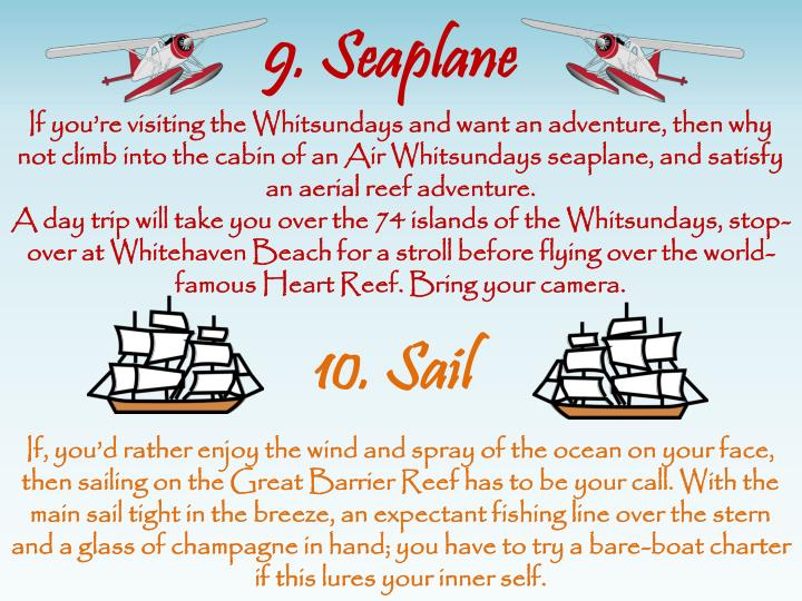 9. Seaplane