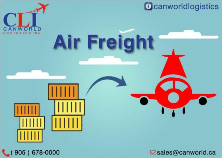 International air freight services canworld logistics inc