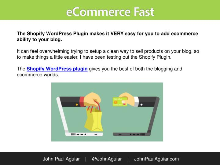 eCommerce Fast