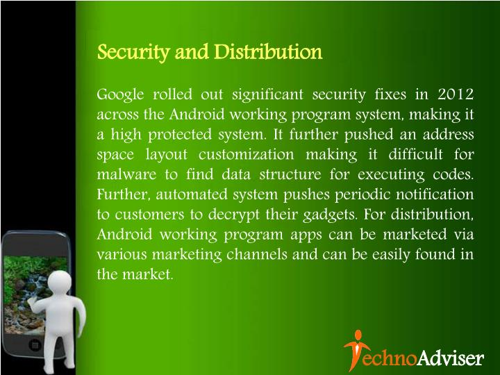 Security and Distribution