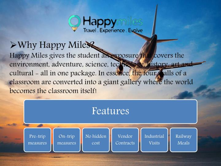 Why Happy Miles?