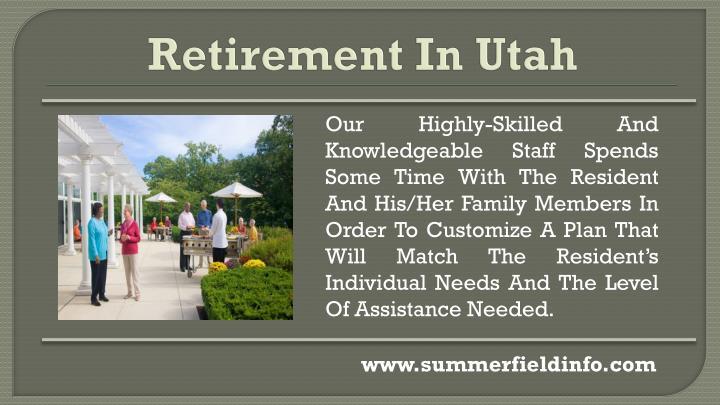 Retirement In Utah