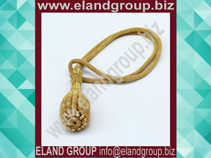 British military uniform bullion sword knot