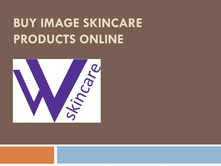 Buy image skincare products online