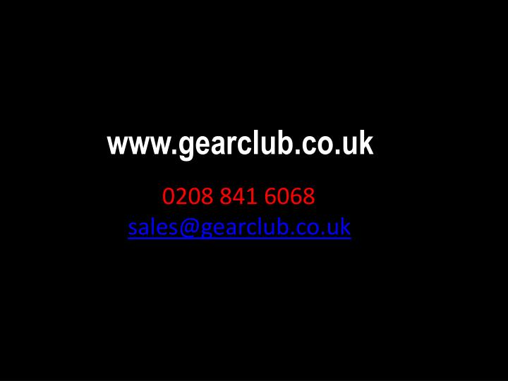 www.gearclub.co.uk