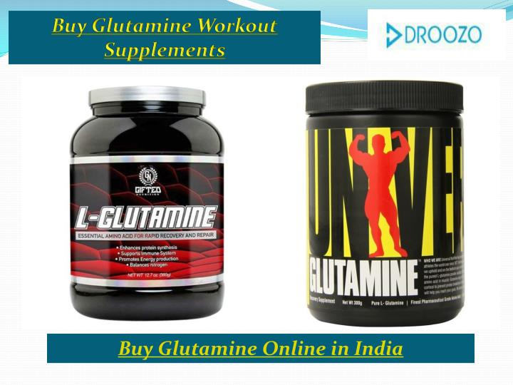 Buy Glutamine Workout Supplements