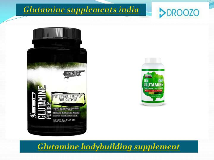 Glutamine supplements