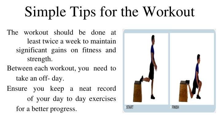 Simple Tips for the Workout