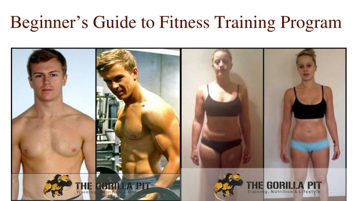 Beginner's Guide to Fitness Training Program