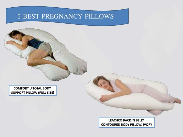 5 best pregnancy pillows