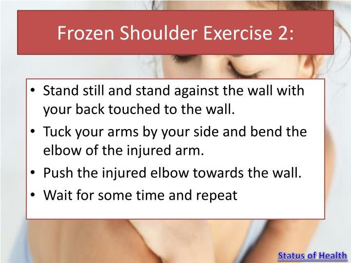 Frozen Shoulder Exercise