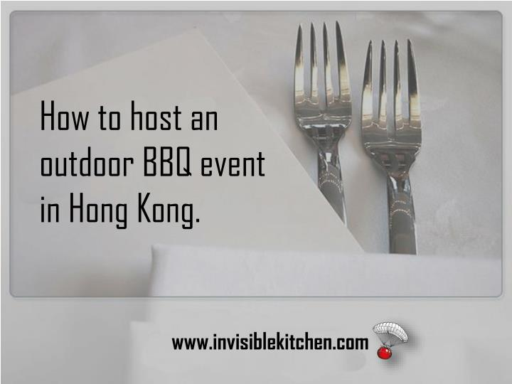 How to host an