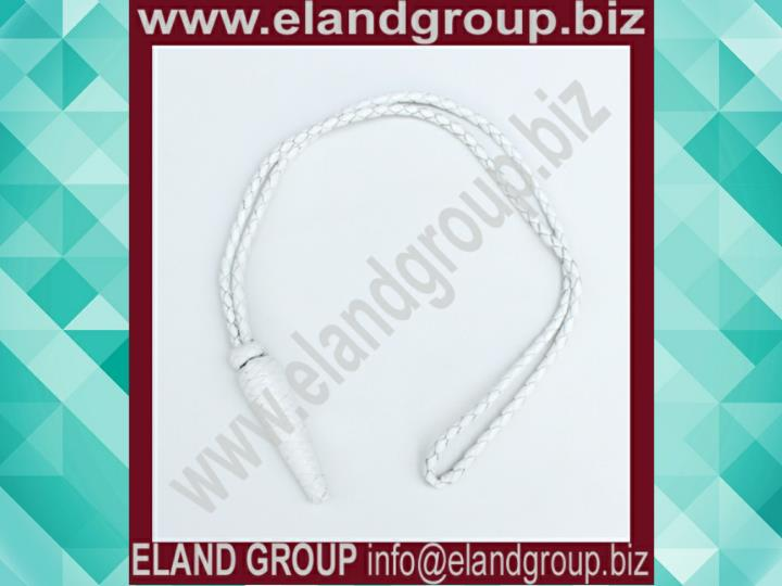 Leather sword knot military supplier
