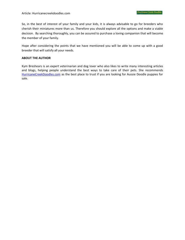 Article: Hurricanecreekdoodles.com