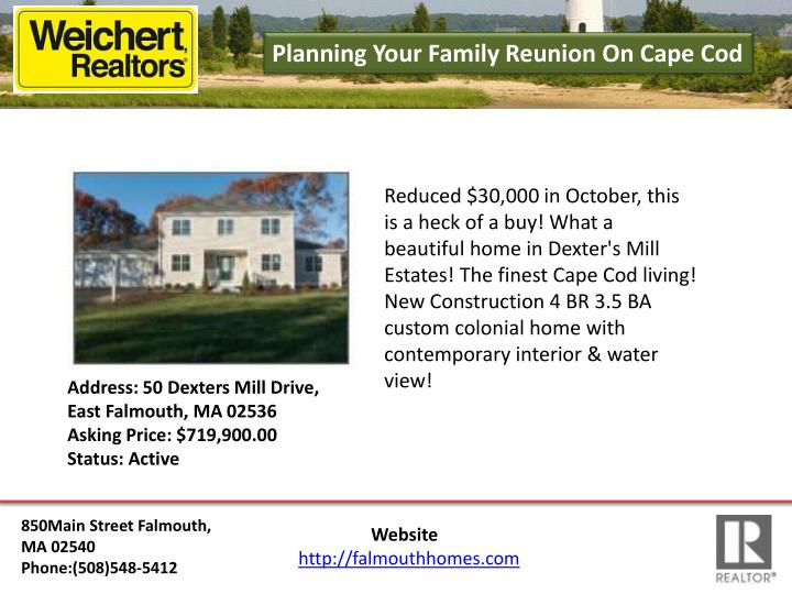 Planning Your Family Reunion On Cape Cod