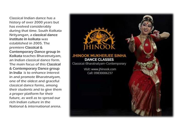 Classical Indian dance has a history of over 2000 years but has evolved considerably during that time.