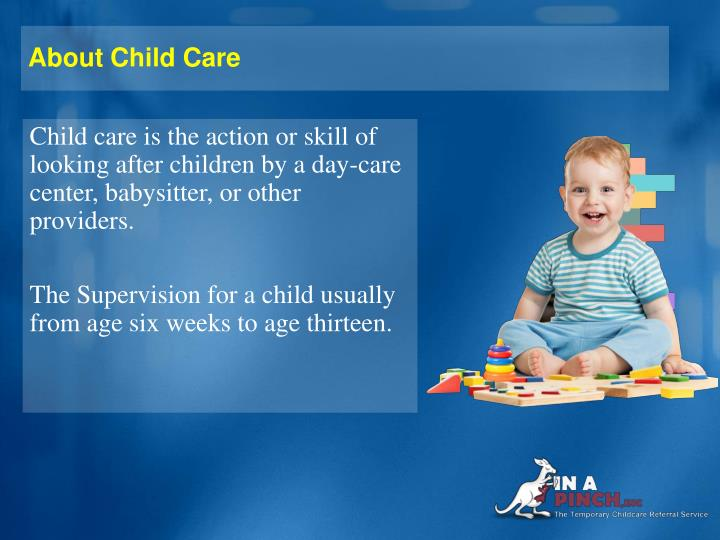 About Child Care