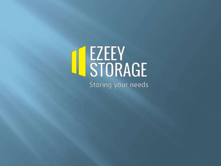 Self storage facilities for commercial and residential